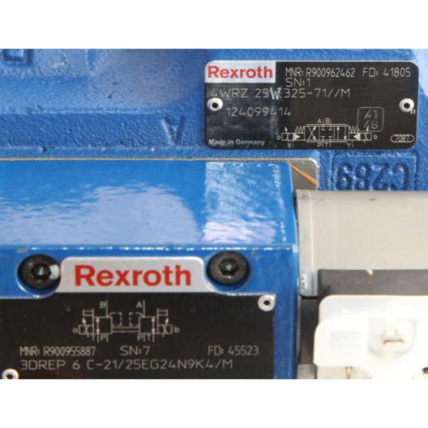 Rexroth R900962462 with R900955887 4WRZ 3DREP Proportioning amp; Reducing Valve #4 image