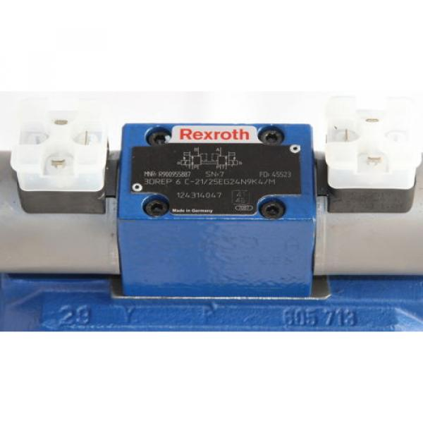 Rexroth R900962462 with R900955887 4WRZ 3DREP Proportioning amp; Reducing Valve #5 image