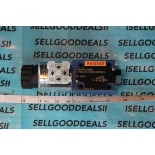 Rexroth R900049890 M-4SED6D13/350CG96N9K4 Hydraulic Solenoid Valve 80/96VDC origin #1 image