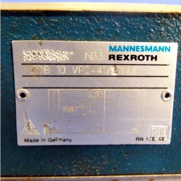 MANNESMANN REXROTH REDUCING VALVE HSZ-06-A1003018315M00 Origin NO BOX #2 image
