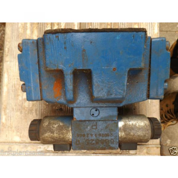 REXROTH ELECTRIC HYDRAULIC VALVE BLOCK MNR: R900944207 #3 image