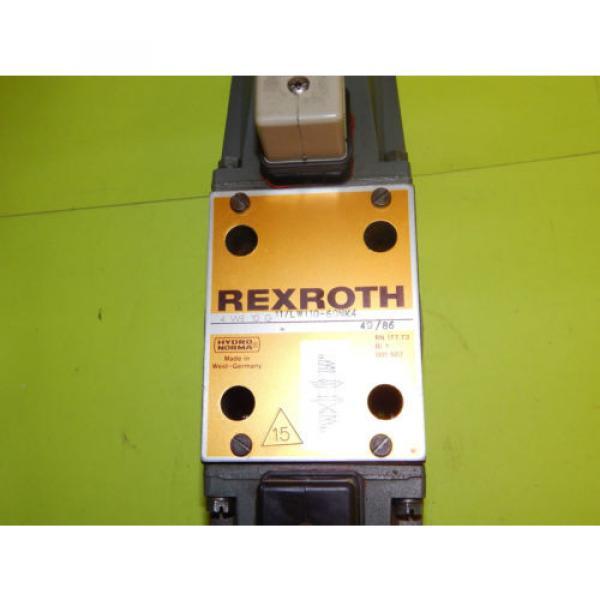 Rexroth 4WE10G11/LW110-60NK4 Directional Control Valve 4WE10G11LW11060NK4 #5 image
