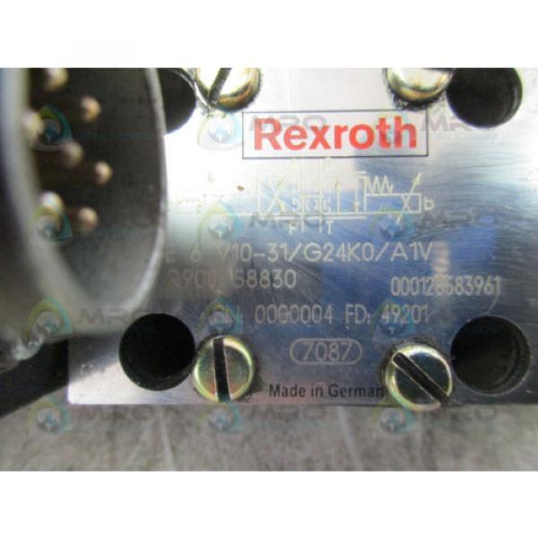 REXROTH 4WRSE-6-V10-31/G24K0/A1V PROPORTIONAL VALVE USED #4 image