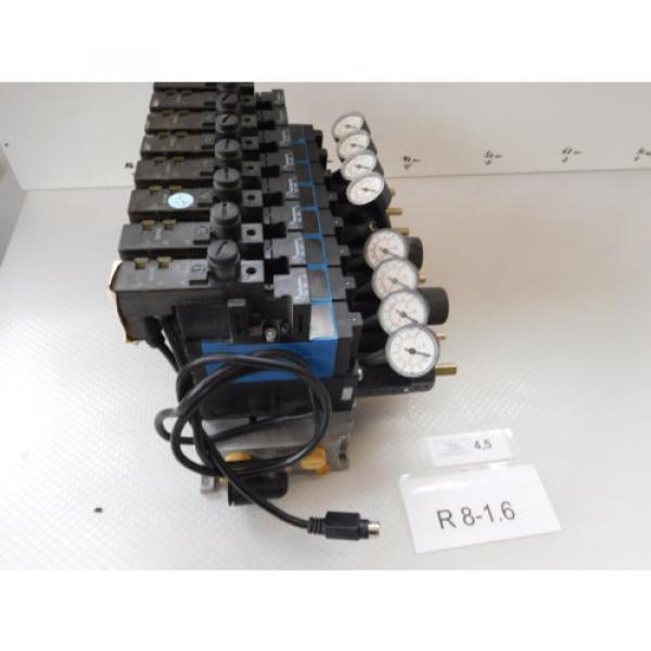 Rexroth Mecman 335 500 142 0 Valve terminal mit 8 x 576 360 0 Condition 1a #3 image