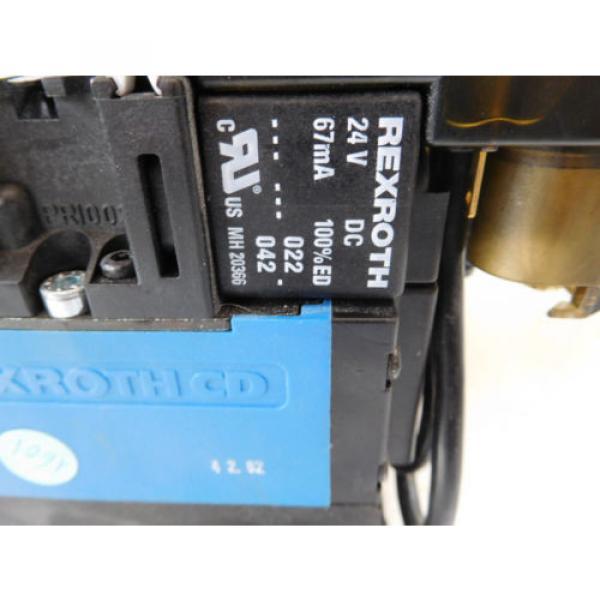 Rexroth Mecman 335 500 142 0 Valve terminal mit 8 x 576 360 0 Condition 1a #5 image