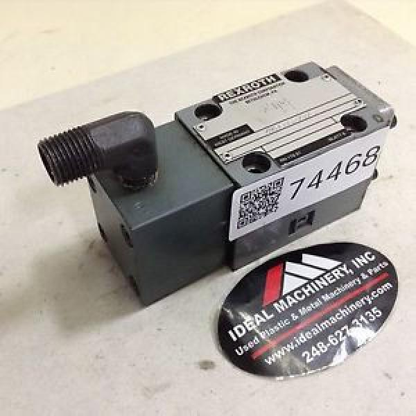 Rexroth Valve 4WH6D52/V/5 Used #74468 #1 image
