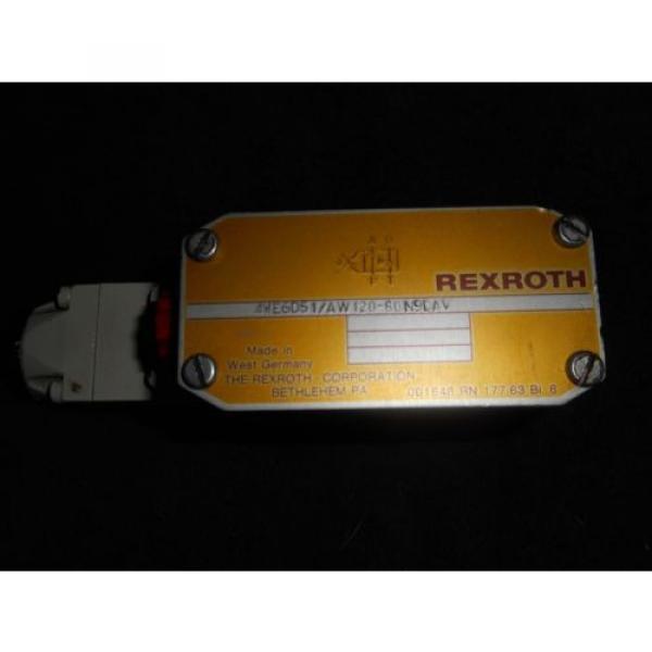 REXROTH Control Valve 4WE6D51/AW120-60N9DAV  / 4WE6D51 #1 image