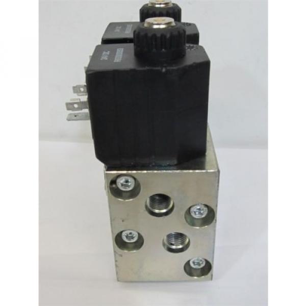 Rexroth L711 Series, Double Bank 8/2, 24 vdc, Directional Flow Diverter Valves #3 image