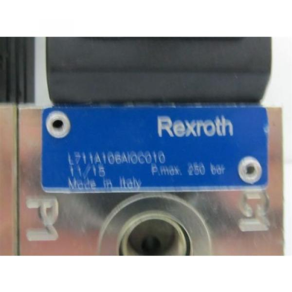 Rexroth L711 Series, Double Bank 8/2, 24 vdc, Directional Flow Diverter Valves #4 image