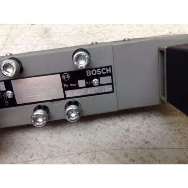 Rexroth Bosch 0-820-027-126 24 VDC 48 VAC Control Valve 0820027126 1824210223 #2 image