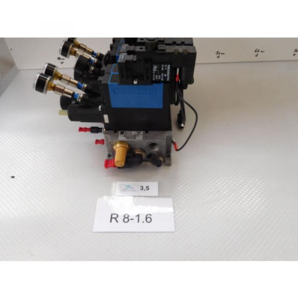 Rexroth Mecman 335 540 064 0 Valve terminal mit 5 x rexroth 576 360 0 rexroth CD #2 image