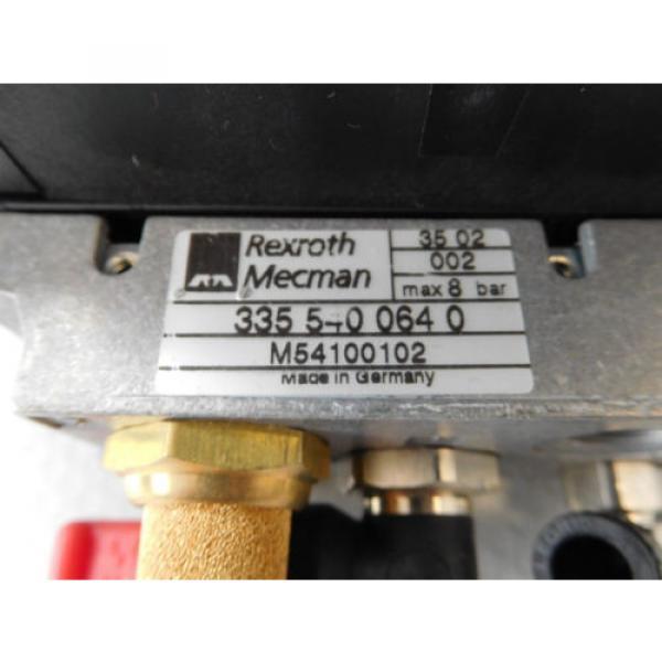 Rexroth Mecman 335 540 064 0 Valve terminal mit 5 x rexroth 576 360 0 rexroth CD #3 image