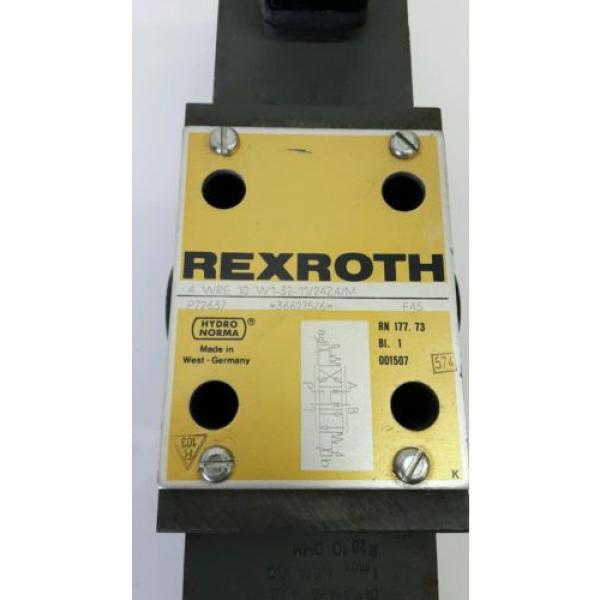 Rexroth 4WRE10 Proportionalventil Servoventil servo proportional valve 605041 #4 image