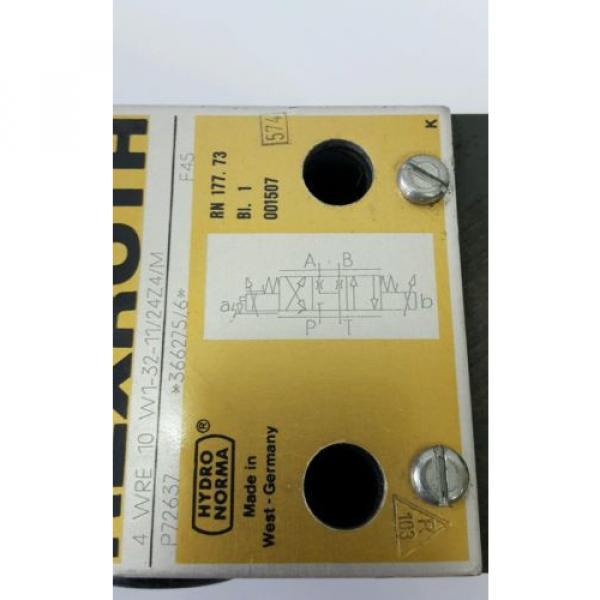 Rexroth 4WRE10 Proportionalventil Servoventil servo proportional valve 605041 #5 image
