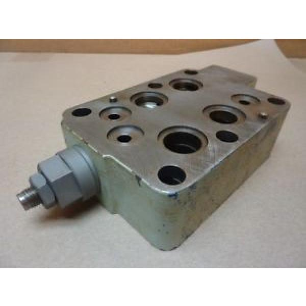 Mannesmann Rexroth Hydraulic Valve 474  580 Used #31899 #1 image