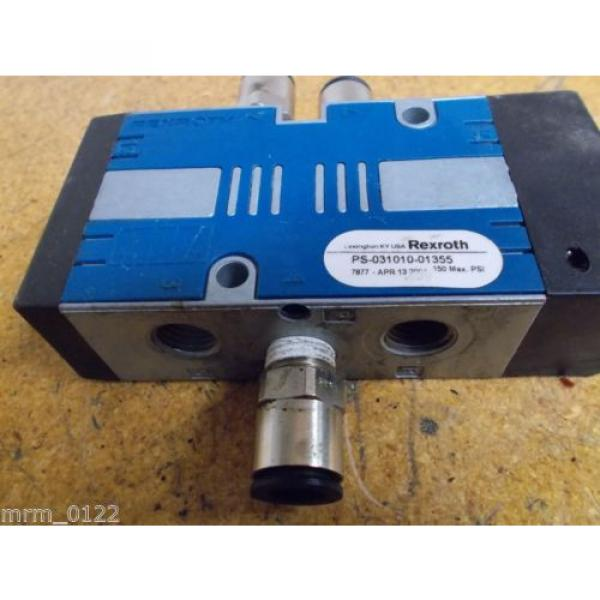Rexroth PS-031010-01355 Solenoid Valve 150PSI Used #2 image