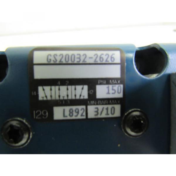 REXROTH GS20032-2626 CERAM PNEUMATIC SOLENOID VALVE 150PSI NIB #4 image