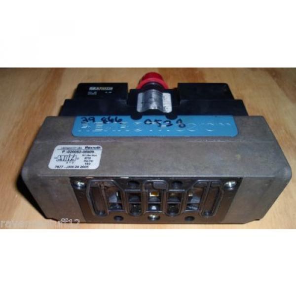 Rexroth P-020052-00909 24VDC Solenoid Valve origin no Box #3 image