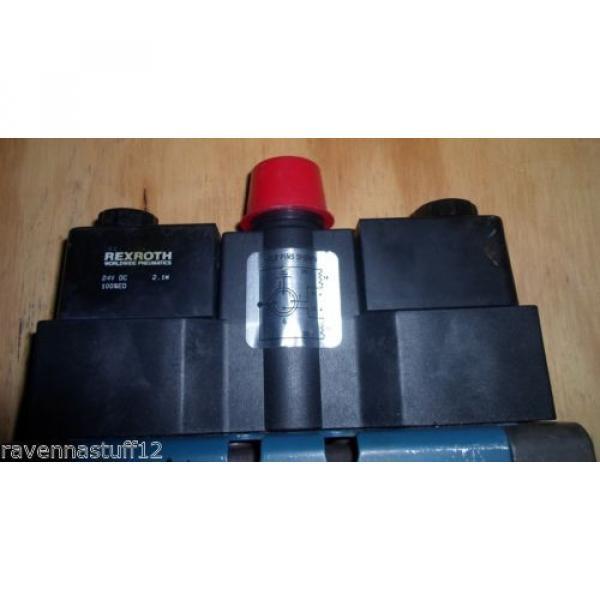 Rexroth P-020052-00909 24VDC Solenoid Valve origin no Box #5 image