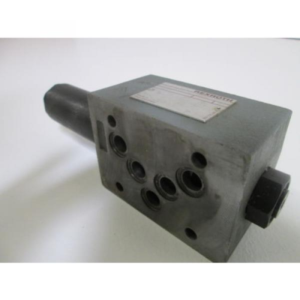 REXROTH HYDRUALIC VALVE ZDR10DP2-52/150YM/12 USED #4 image