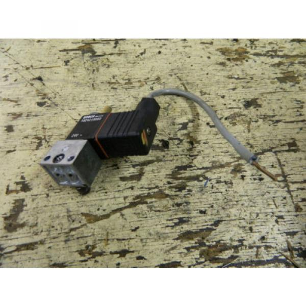 Bosch Rexroth Solenoid Valve, P/N 0820019014, W/ 1824210060 24VDC Coil, Used #3 image