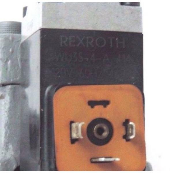 REXROTH 4 WEH 16 E30/6AW120-60NETZ5L CONTROL VALVE 4WEH16E306AW12060NETZ5L #6 image
