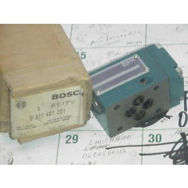 BOSCH REXROTH  0-811-401-201 VALVE BLOCK Origin/BOX #1 image