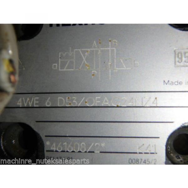 Rexroth Directional Control Valve 4WE6 D53/OFAG24NZ4 #3 image