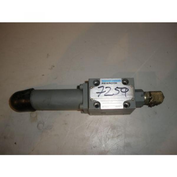 Rexroth Hydraulic Pressure Reducing Valve DR6DP2-42/75YM #2 image