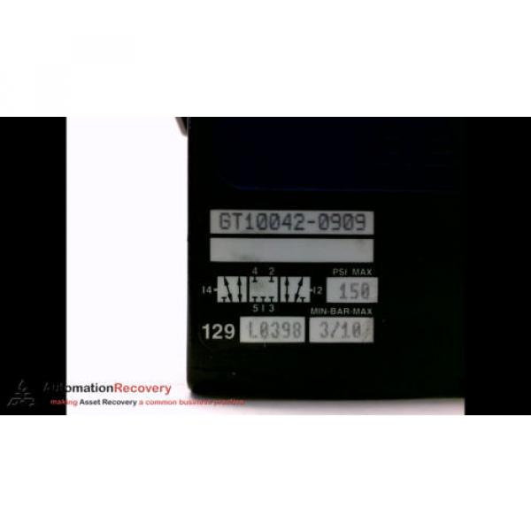 REXROTH GT10042-0909 DOUBLE SOLENOID VALVE, 24VDC, VA27W, SEE DESC #194100 #3 image