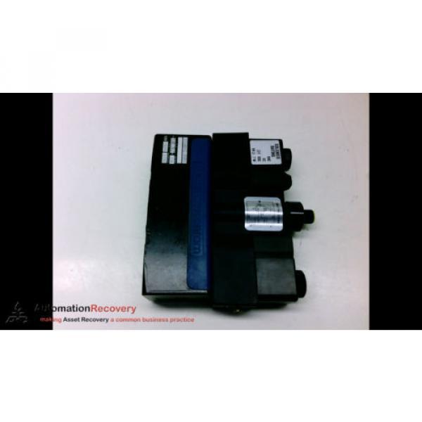 REXROTH GT10042-0909 DOUBLE SOLENOID VALVE, 24VDC, VA27W, SEE DESC #194100 #5 image