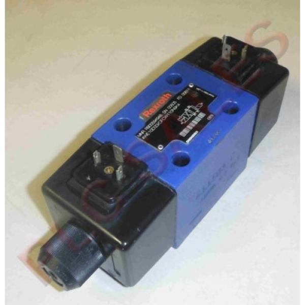 REXROTH R900594948 Two-Way Directional Spool Valve Model 4WE10D33/OFCW110N9K4 #1 image