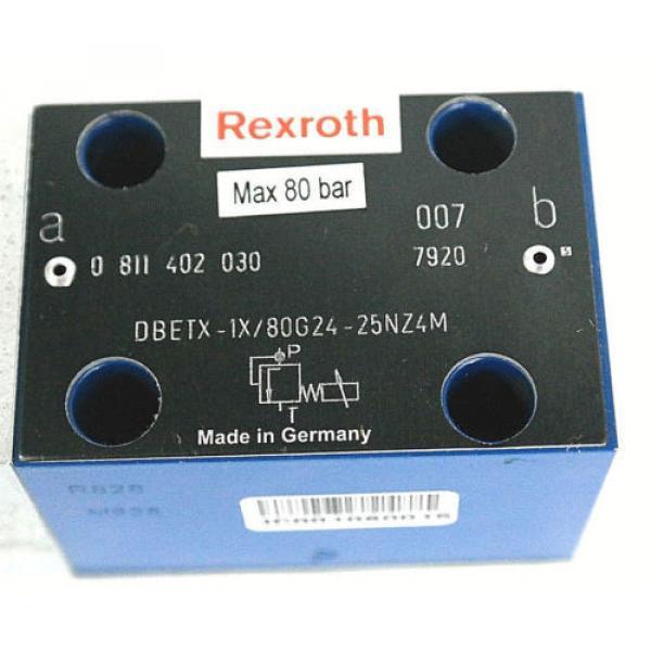 NIB BOSCH REXROTH 0 811 402 030 PROPORTIONAL VALVE W/ 0811405145 AMP MODULE #3 image