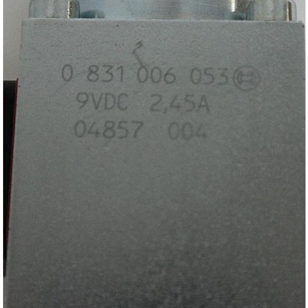 NIB BOSCH REXROTH 0 811 402 030 PROPORTIONAL VALVE W/ 0811405145 AMP MODULE #5 image