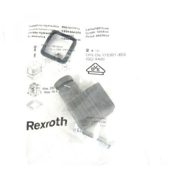 NIB BOSCH REXROTH 0 811 402 030 PROPORTIONAL VALVE W/ 0811405145 AMP MODULE #7 image
