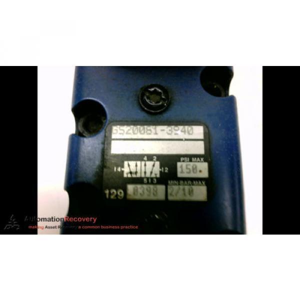 REXROTH GS20061-3940 CERAMIC PNEUMATIC VALVE, 150 PSI, 2/10BAR #2 image
