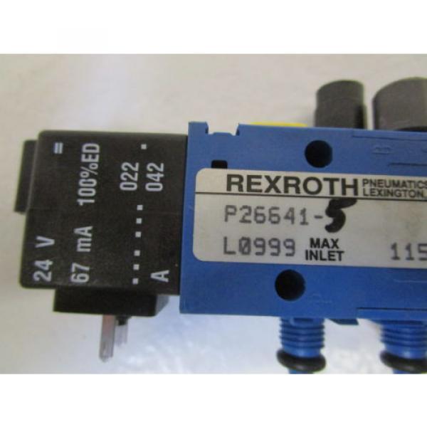 REXROTH SOLENOID VALVE P26641-5 USED #2 image