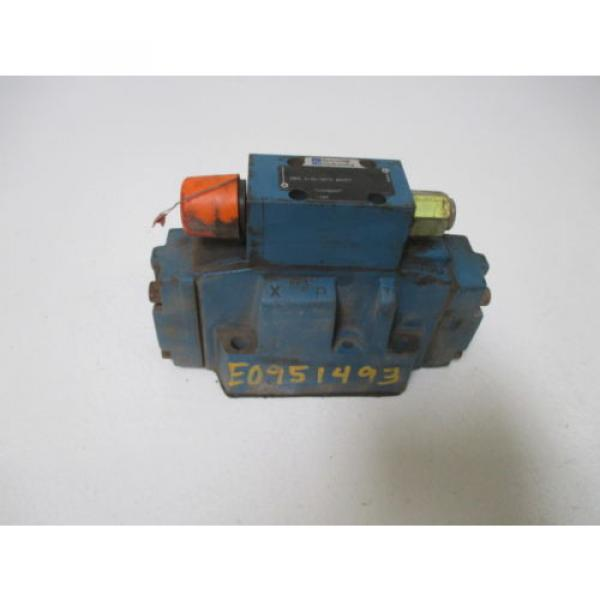 REXROTH DRC 5-52/50YV SO177 VALVE USED #1 image