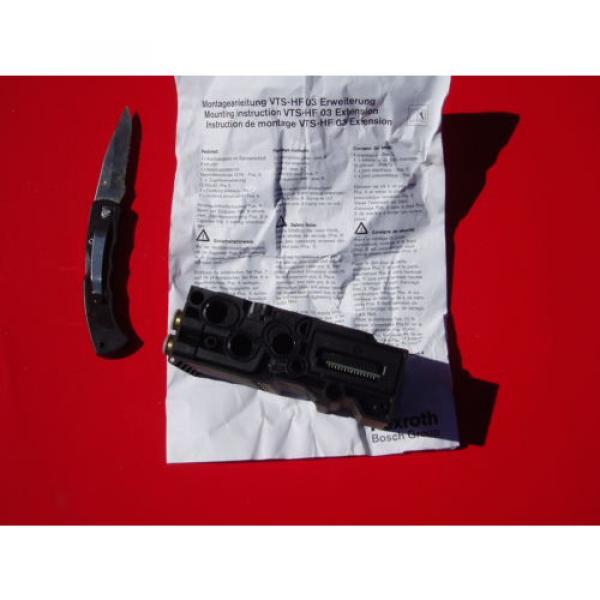 Rexroth Bosch VTS-HF 03 Pneumatic Valve Block Extension - NOS #3 image