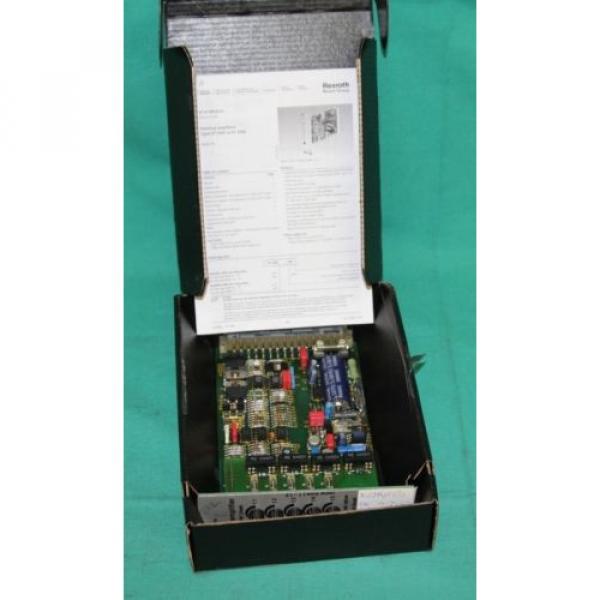 Rexroth, VT5008,  VT-5008, Hydraulic Valve Bosch Proportional Amplifier Servo Ca #2 image