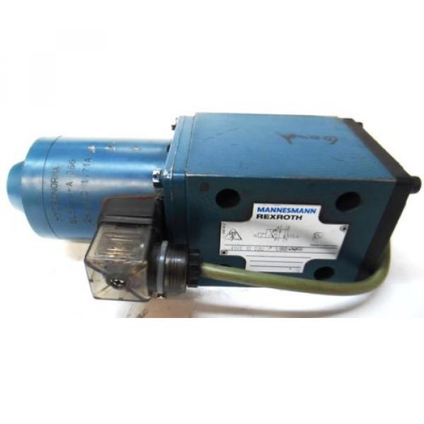 REXROTH, DIRECTIONAL VALVE, 4WE10D32, HYDRONORMA, SOLENOID VALVE, GL62-4-A 366 #7 image