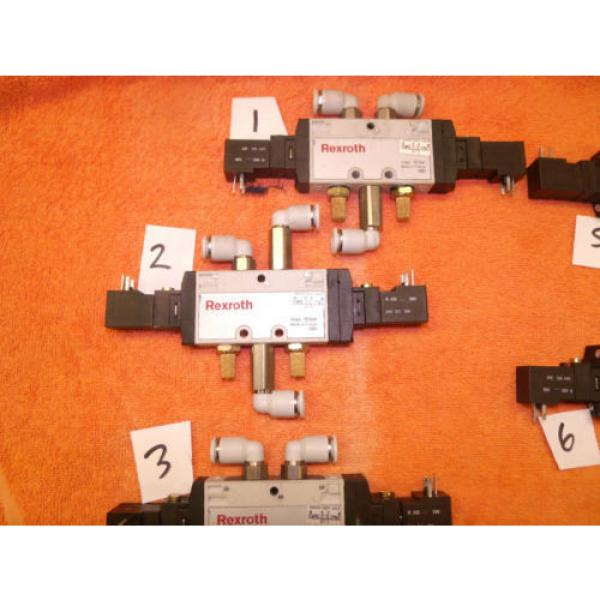 REXROTH PNEUMATIC CONTROL VALVE DIRECTIONAL choose of 8, 0820 061 001 #2 image