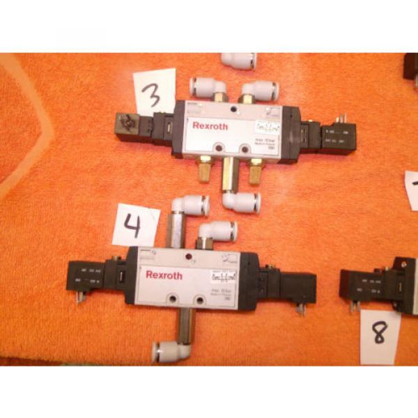 REXROTH PNEUMATIC CONTROL VALVE DIRECTIONAL choose of 8, 0820 061 001 #4 image