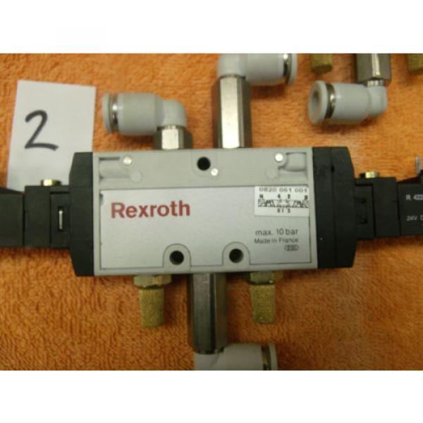 REXROTH PNEUMATIC CONTROL VALVE DIRECTIONAL choose of 8, 0820 061 001 #6 image