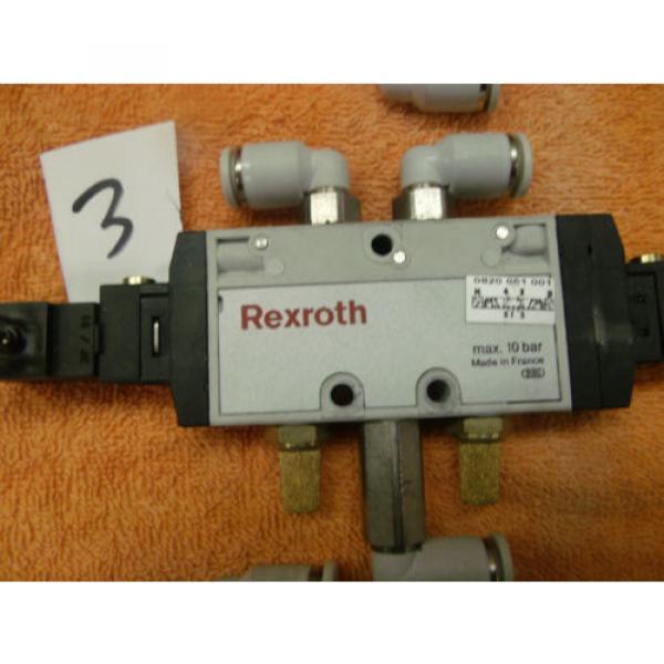 REXROTH PNEUMATIC CONTROL VALVE DIRECTIONAL choose of 8, 0820 061 001 #8 image