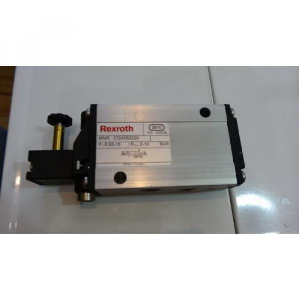Rexroth 06 Magnetventil 5724560220 3/2-directional valve, Series CD12 #1 image