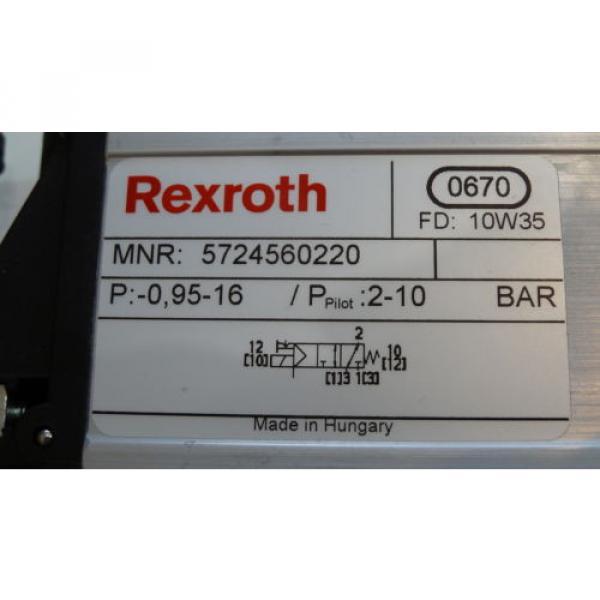 Rexroth 06 Magnetventil 5724560220 3/2-directional valve, Series CD12 #5 image