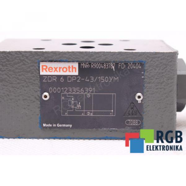 ZDR6DP2-43/150YM R900483787 PRESURE REDUCTING VALVE REXROTH ID16592 #3 image