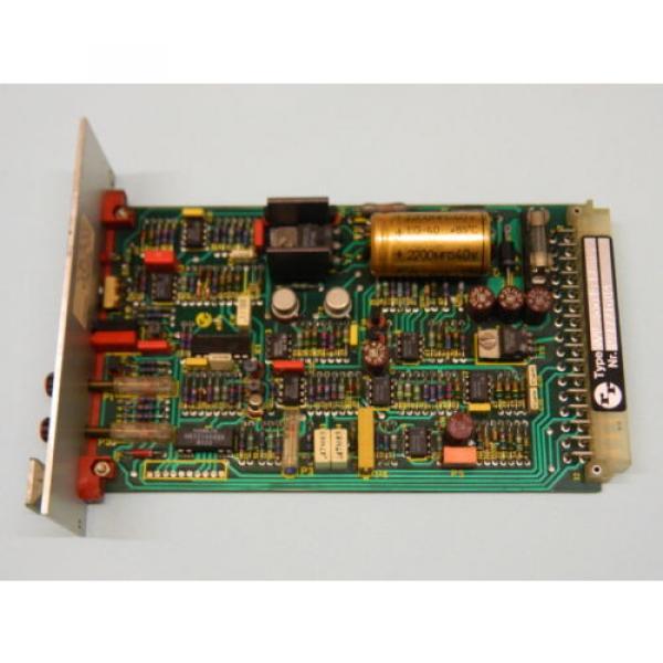 Rexroth VT-5002S22 R5 Valve Amplifier Card #1 image
