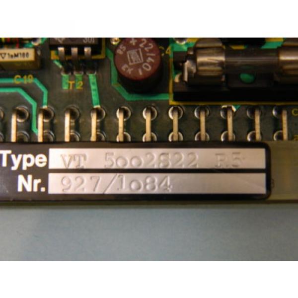 Rexroth VT-5002S22 R5 Valve Amplifier Card #2 image